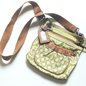 Fossil satchel purse